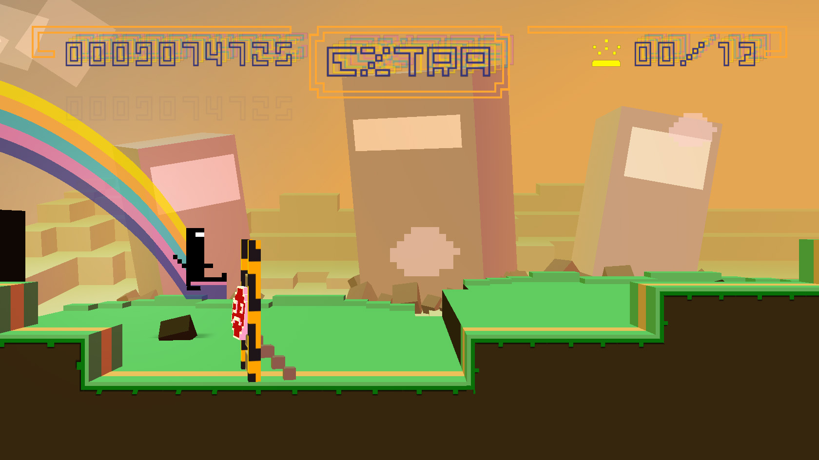 BIT.TRIP RUNNER screenshot