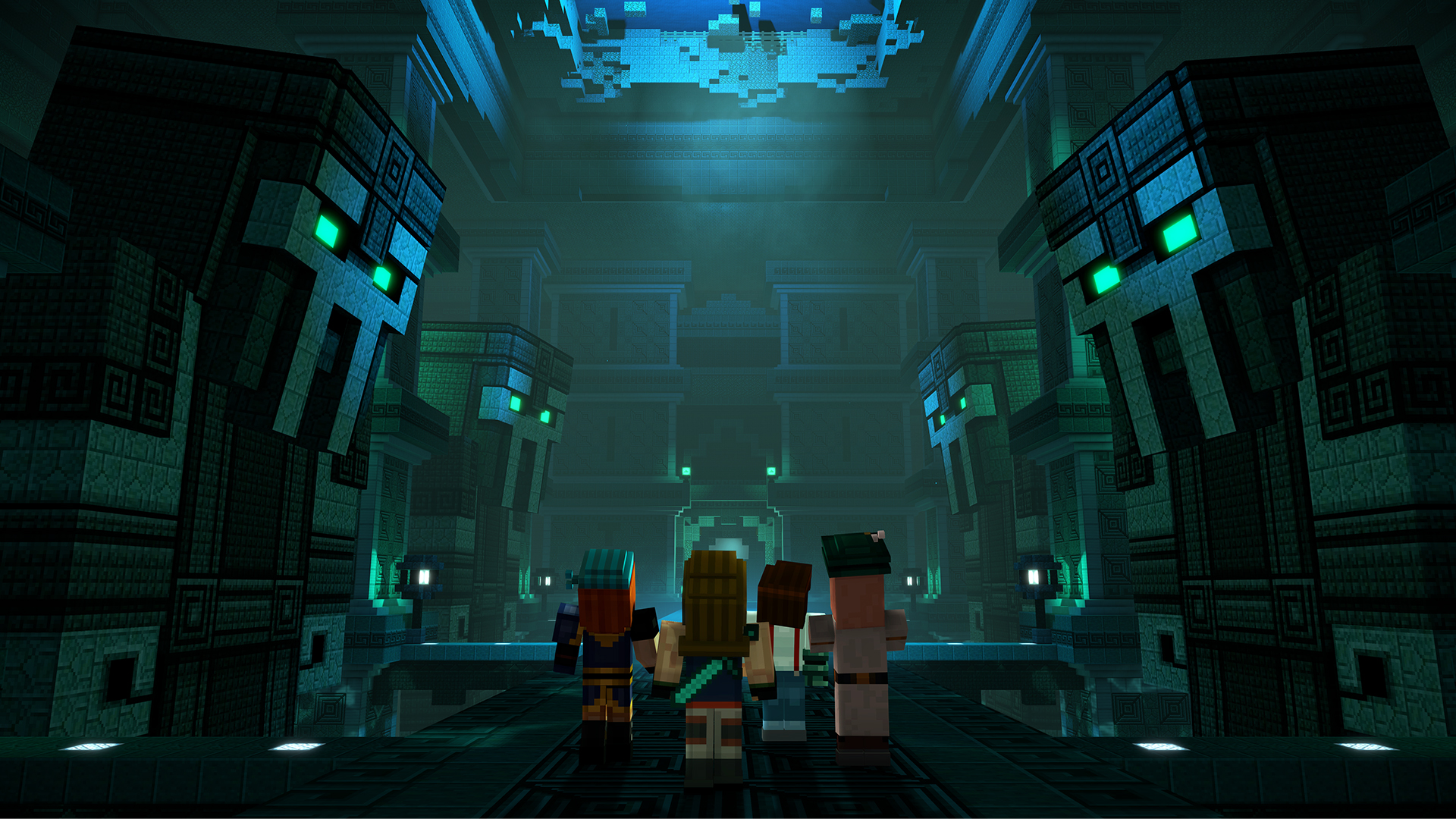 Minecraft: Story Mode - Season Two. Episode 1-4 [RePack] [2017|Rus|Eng]