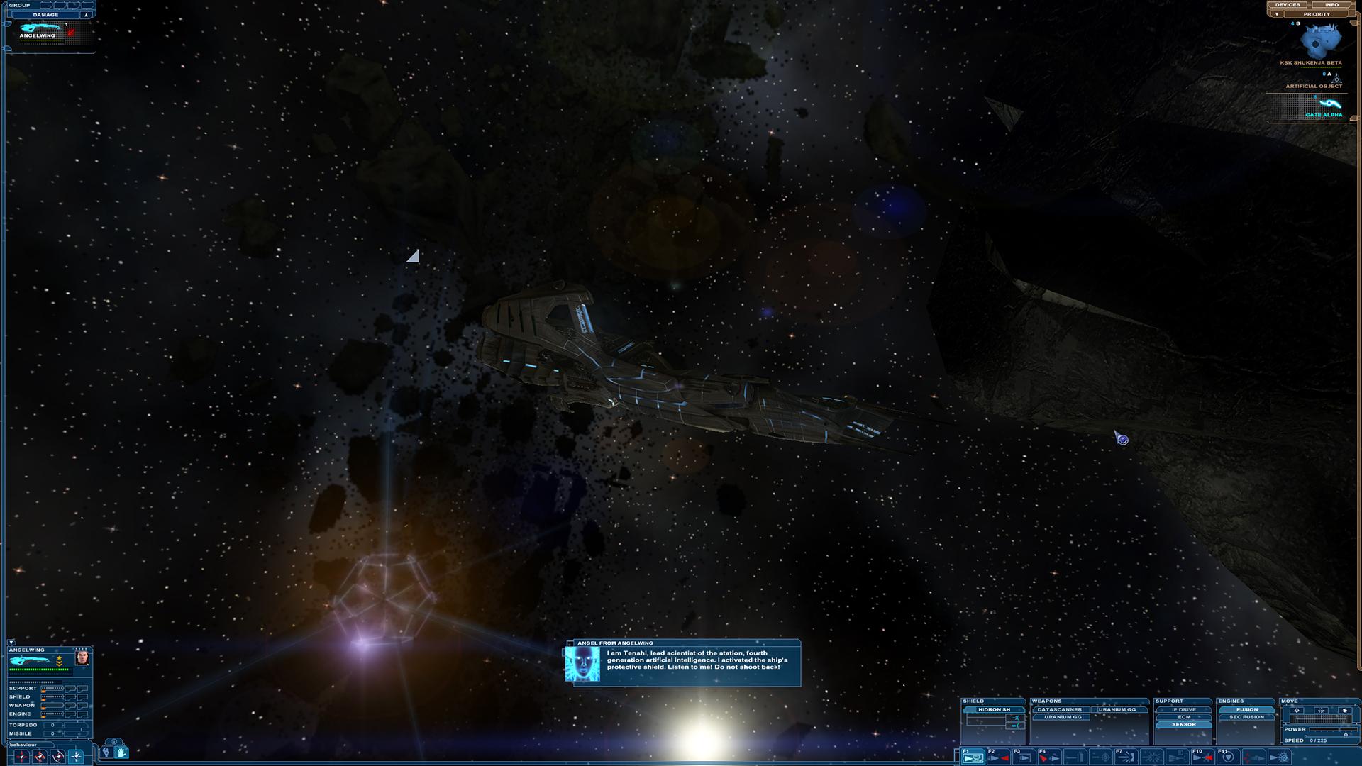 Nexus: The Jupiter Incident Screenshot 2