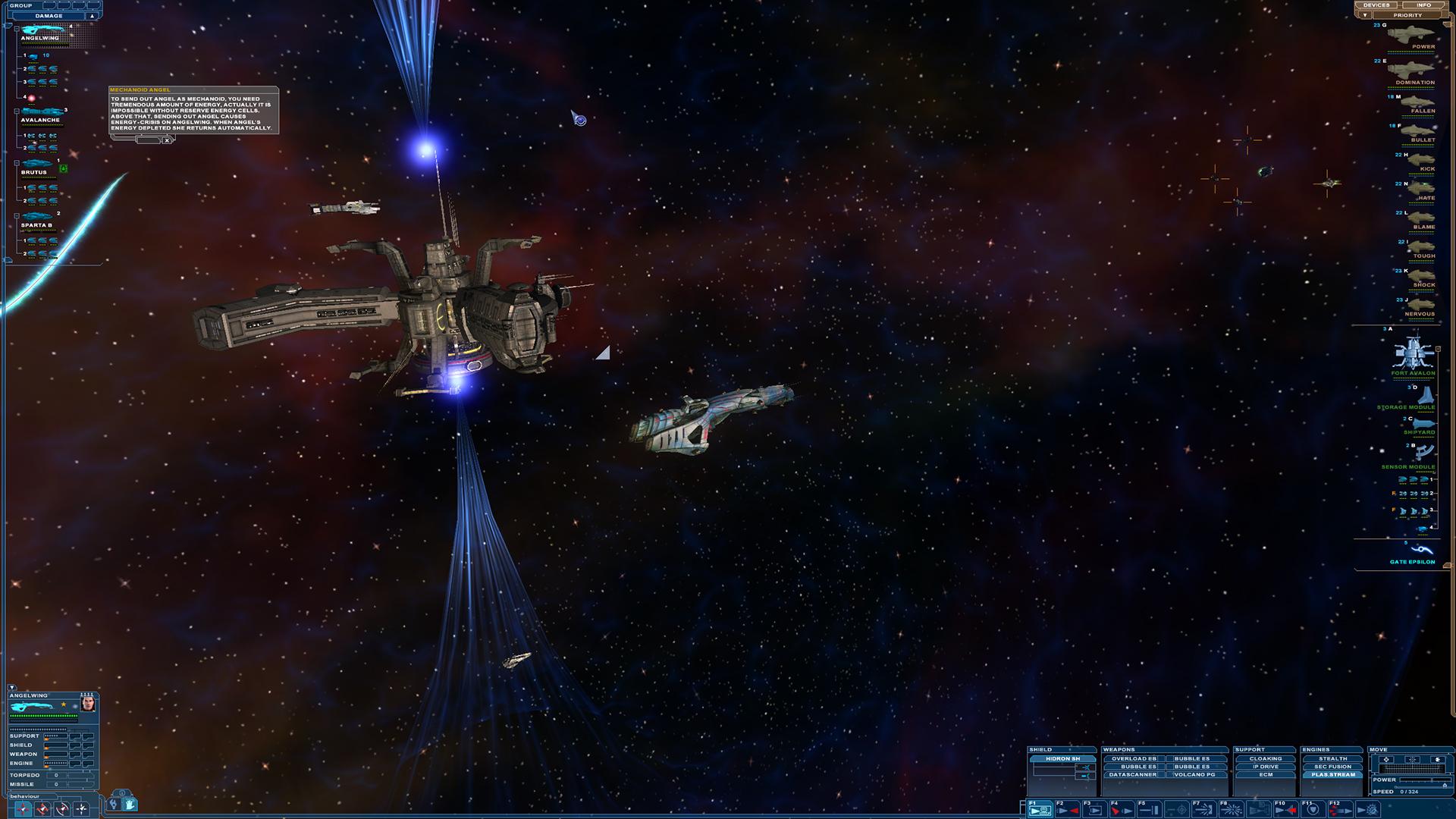 Nexus: The Jupiter Incident Screenshot 1