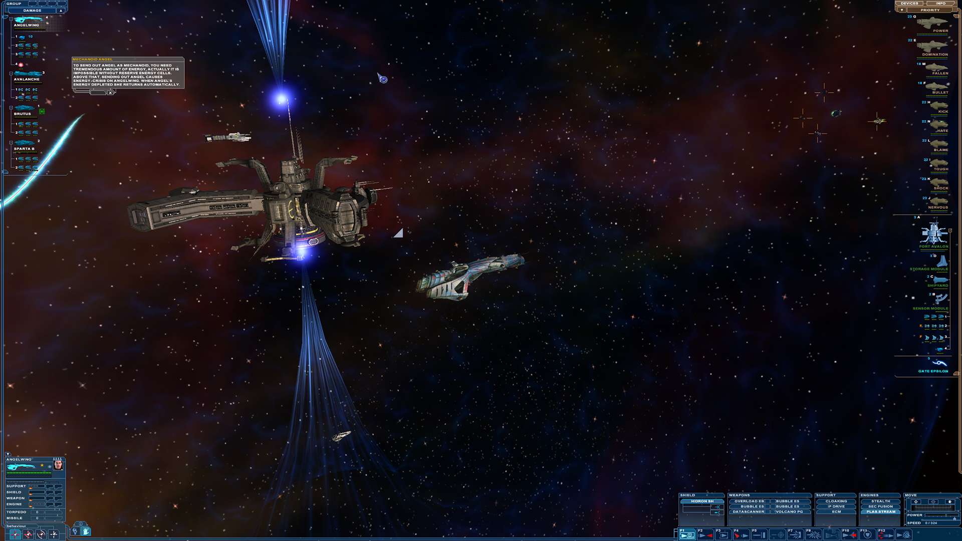 Nexus - The Jupiter Incident screenshot