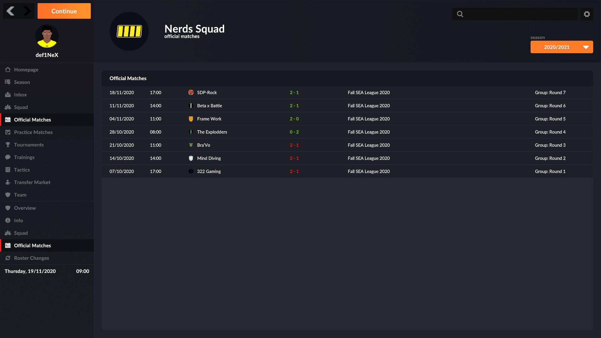 eSports Manager screenshot
