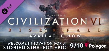 Allgamedeals.com - Sid Meier's Civilization® VI: Rise and Fall - STEAM