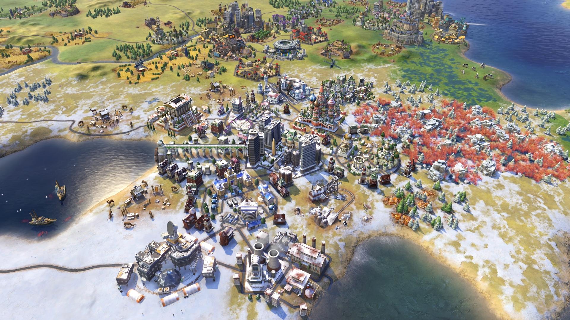 Sid Meier's Civilization VI: Rise and Fall screenshot