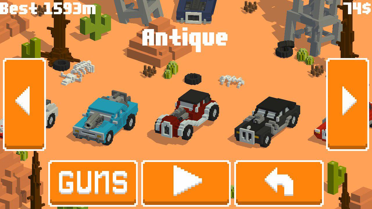 Insane Road screenshot
