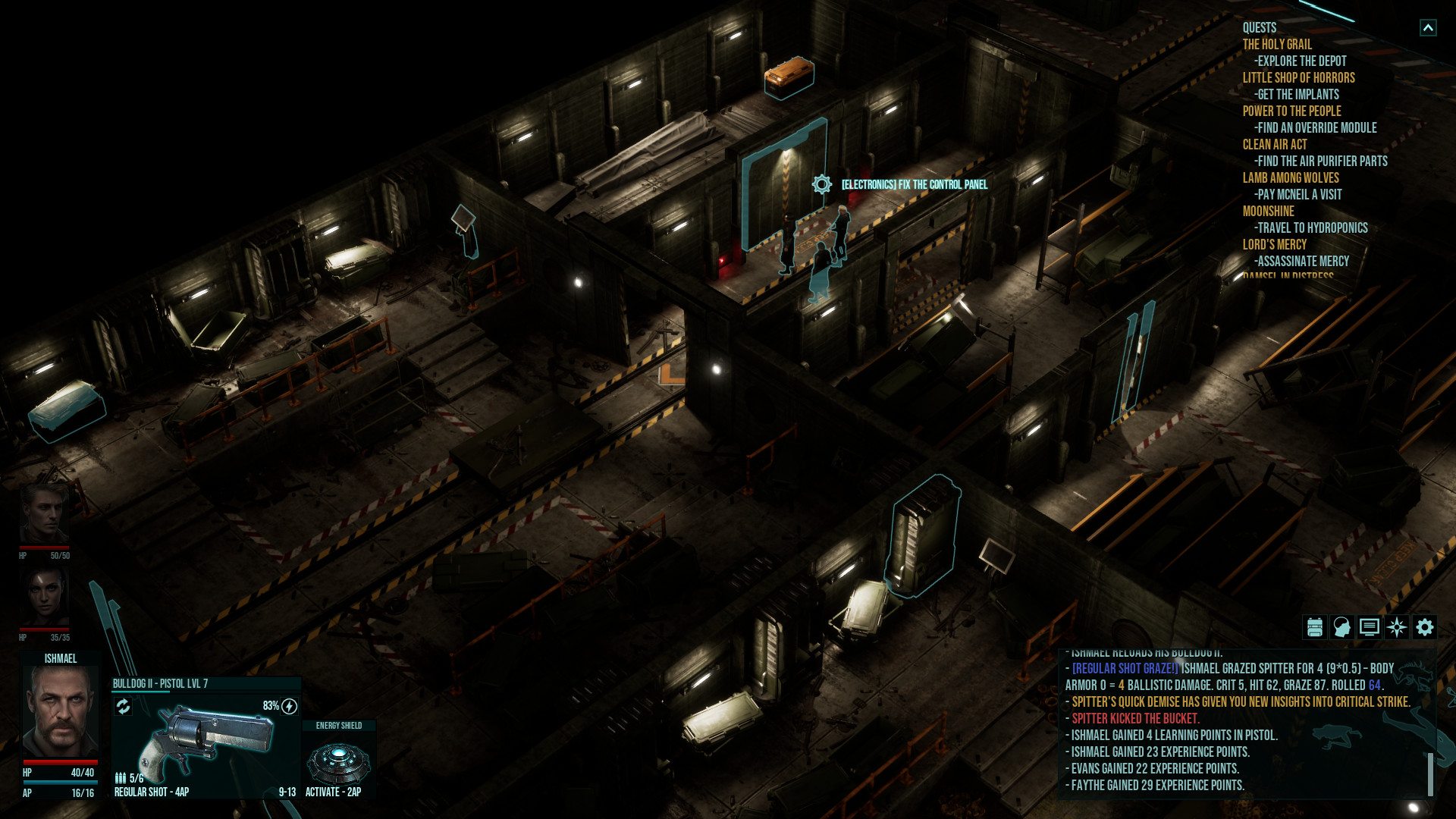 Colony Ship: A Post-Earth Role Playing Game screenshot