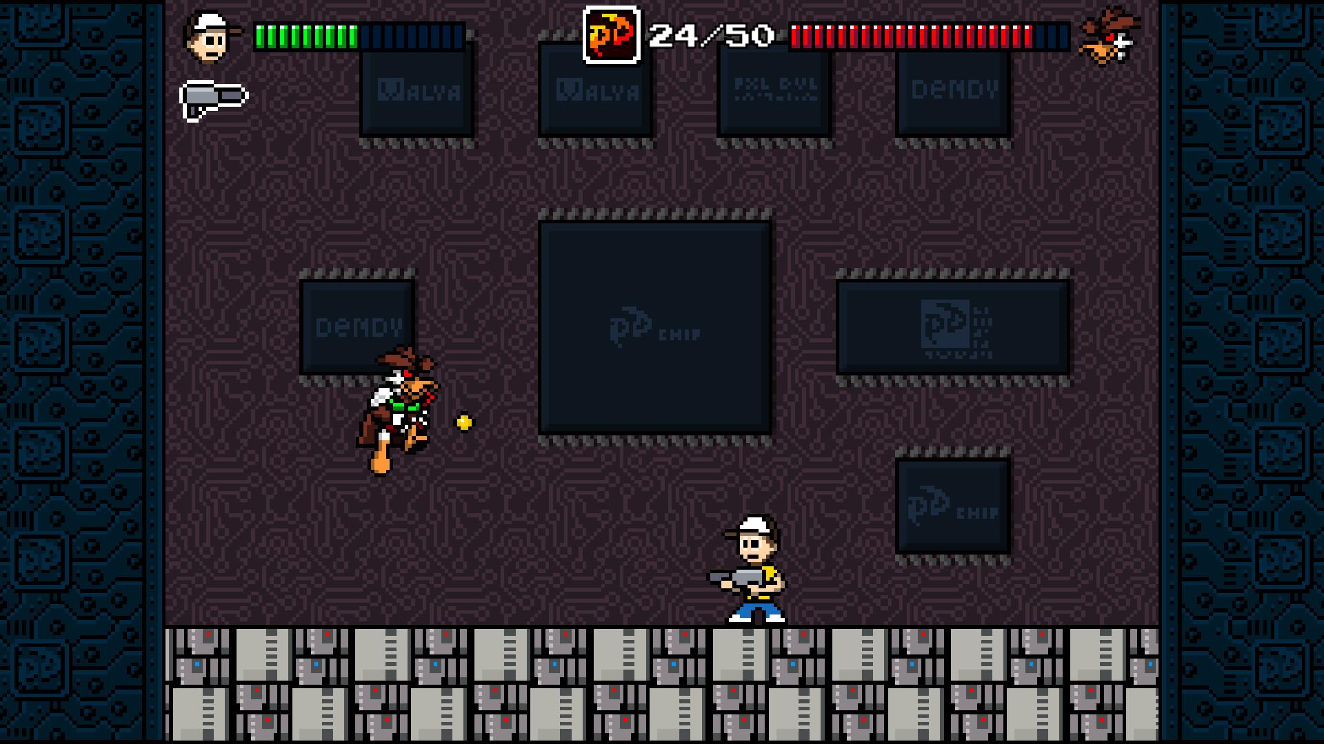 Pixel Devil and the Broken Cartridge screenshot