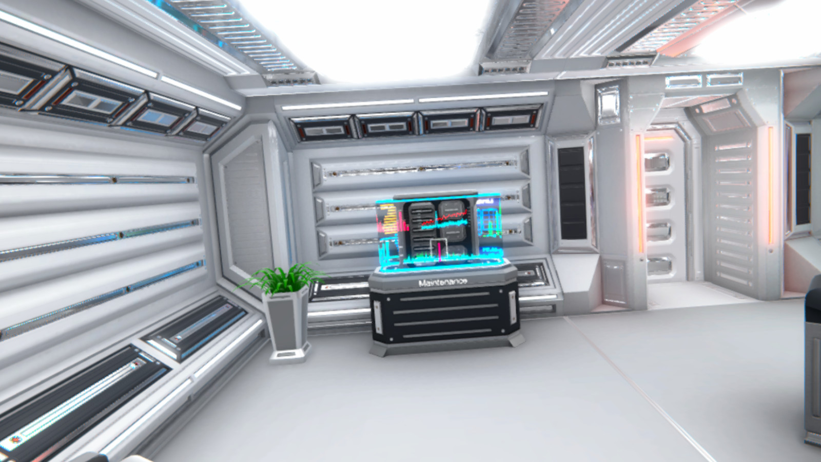 Space Panic: Room Escape (VR) screenshot