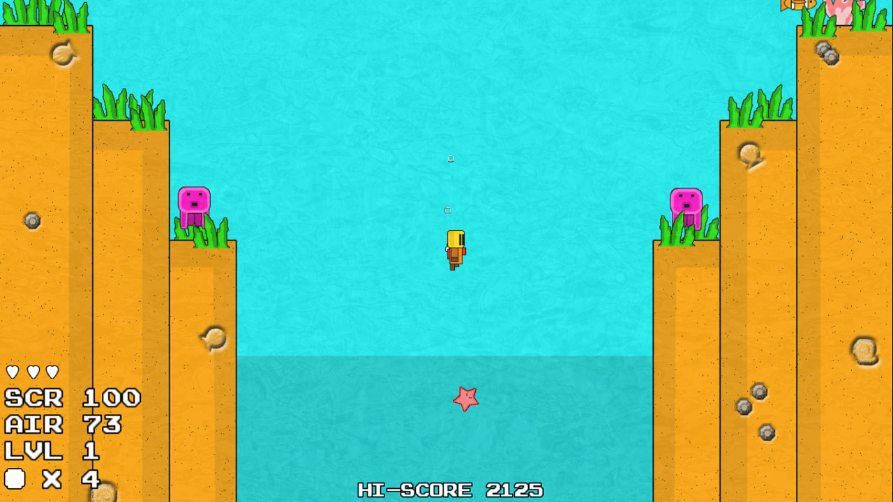 Booty Diver screenshot