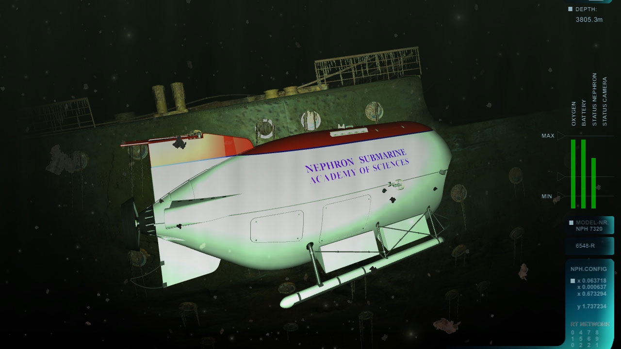 Dive to the Titanic screenshot