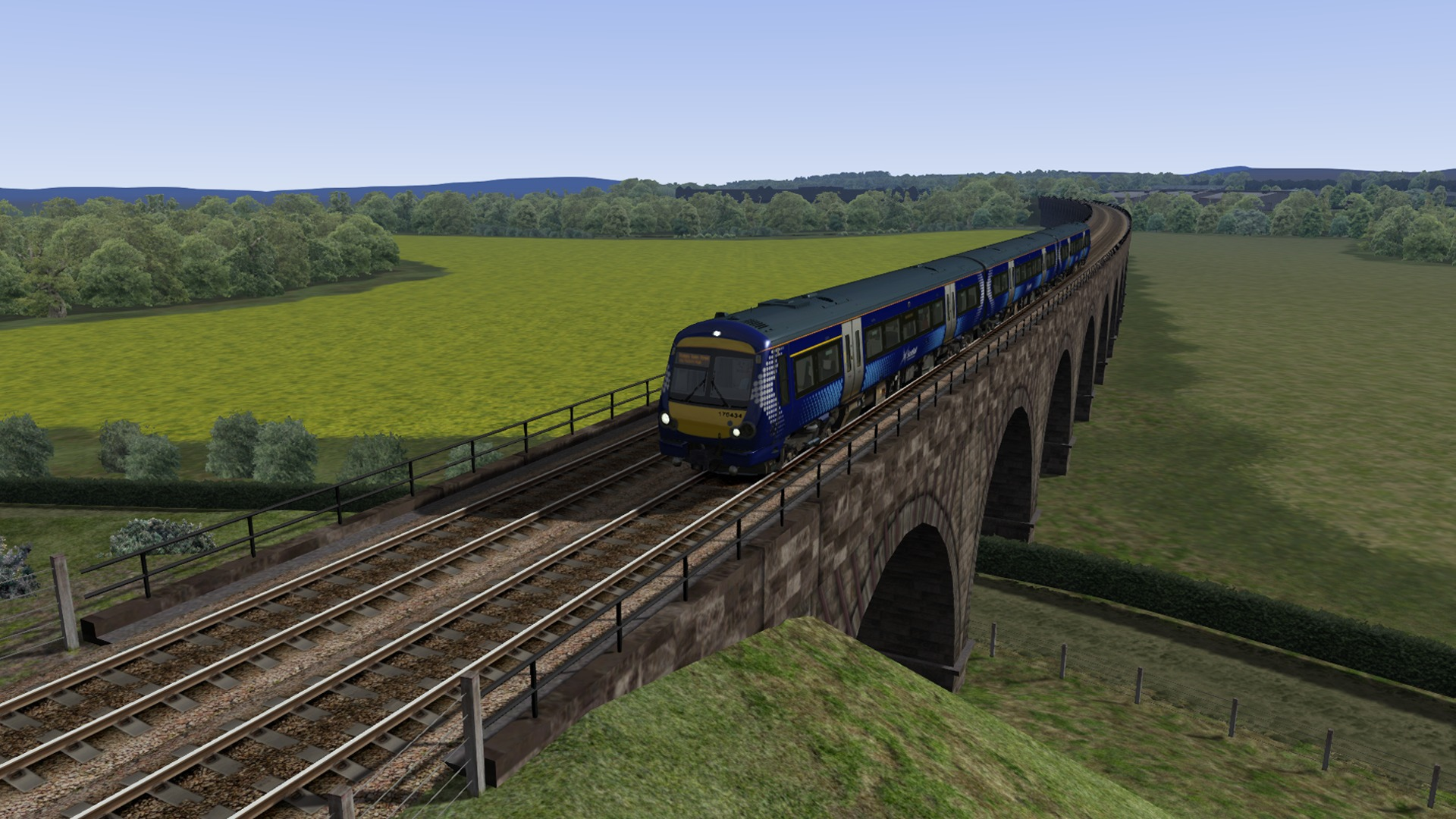 Train Simulator: Edinburgh-Glasgow Route Add-On screenshot