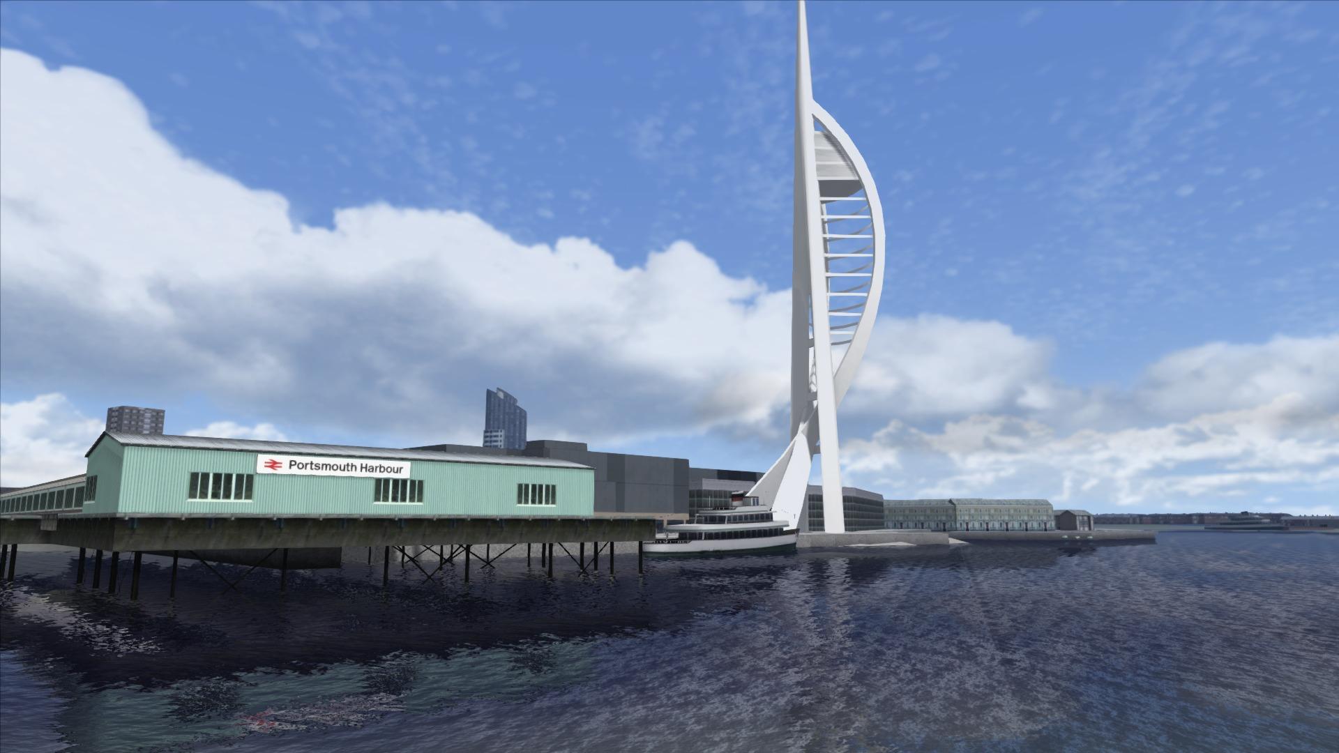 Train Simulator: Portsmouth Direct Line Route Add-On screenshot
