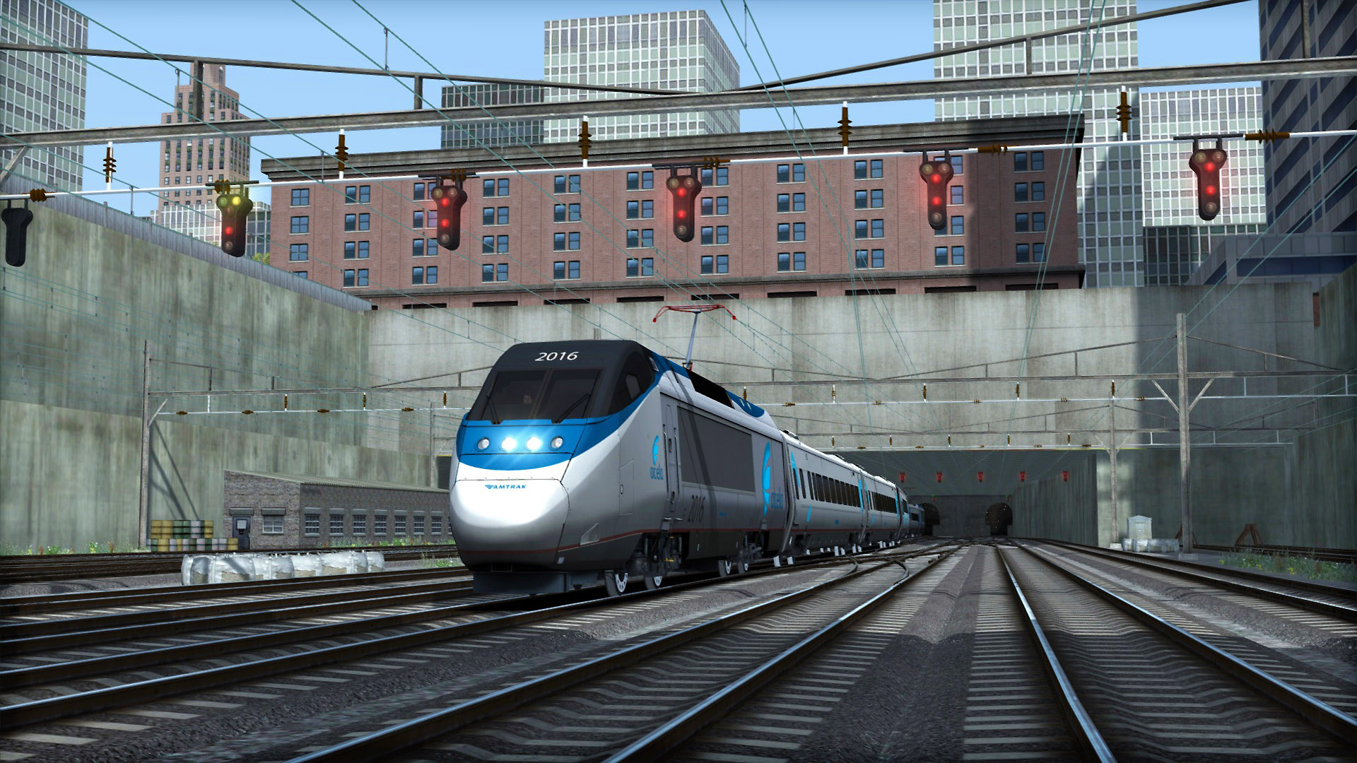 Train Simulator: Amtrak Acela Express EMU Add-On screenshot