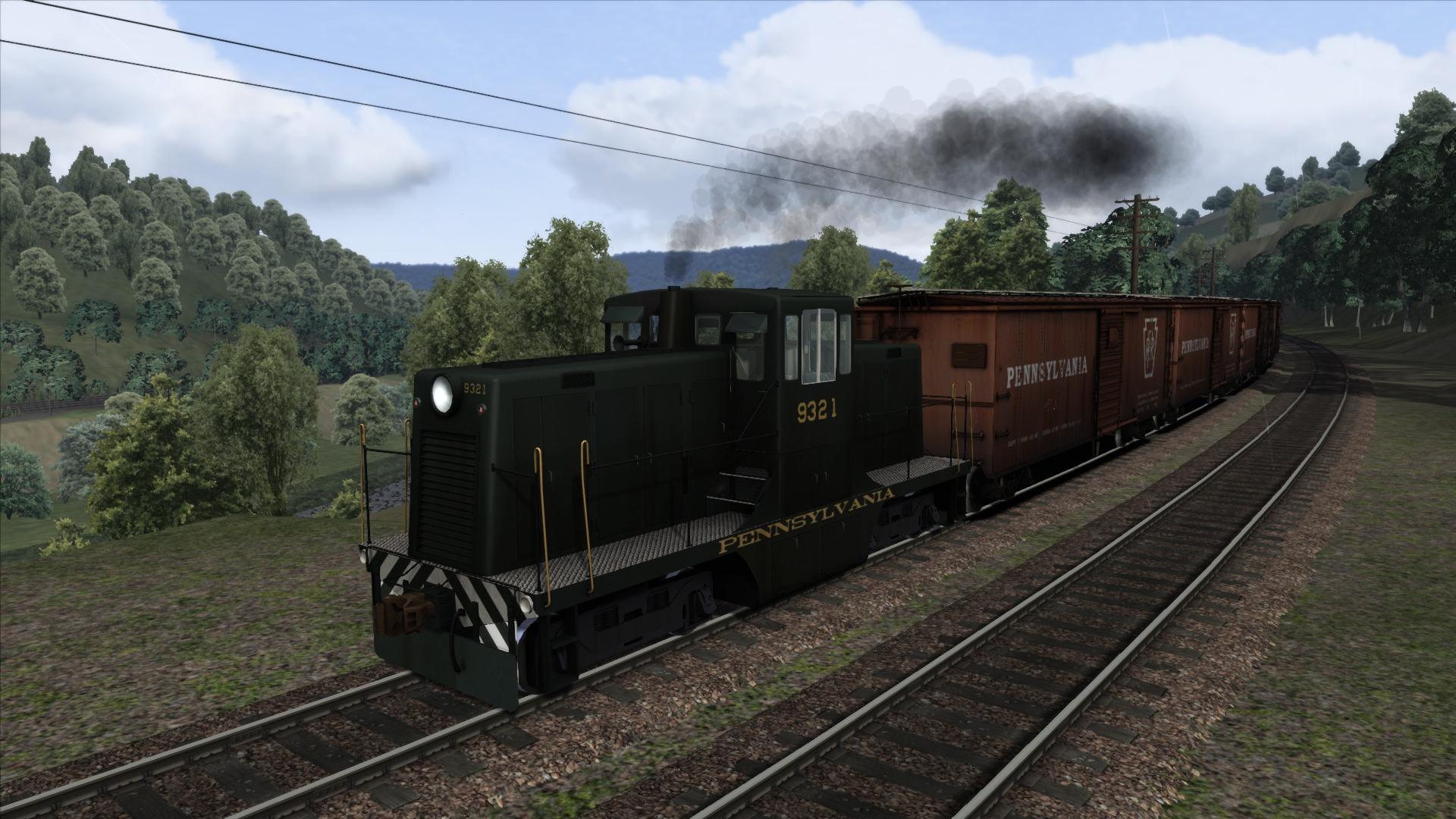 Train Simulator: Horseshoe Curve Route Add-On screenshot