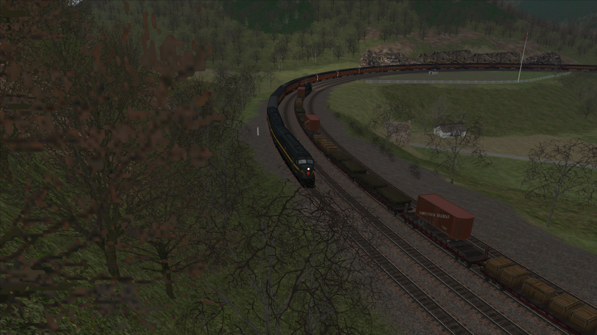 Train Simulator: Horseshoe Curve Route Add-On screenshot