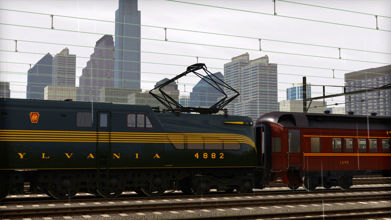 Train Simulator: PRR GG1 Loco Add-On screenshot