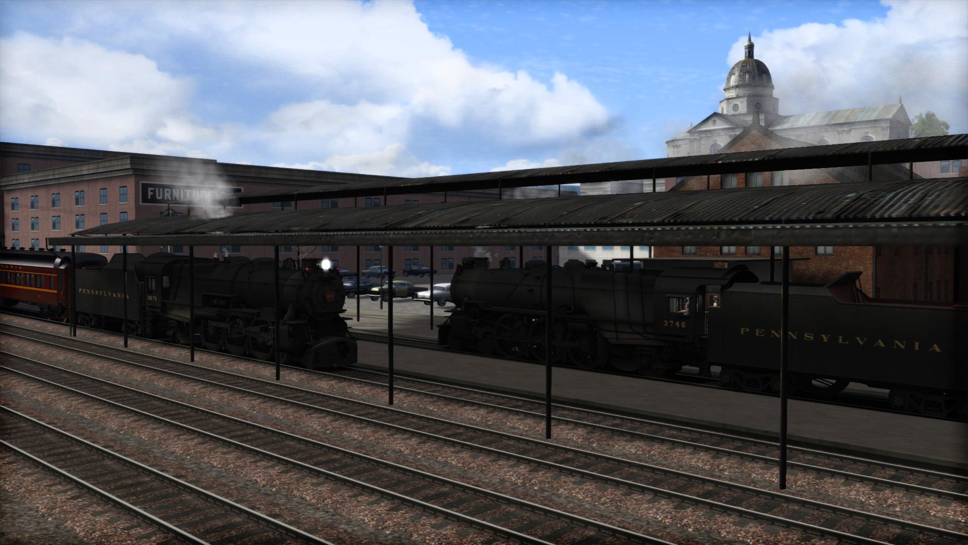 Train Simulator: PRR K4 Loco Add-On screenshot