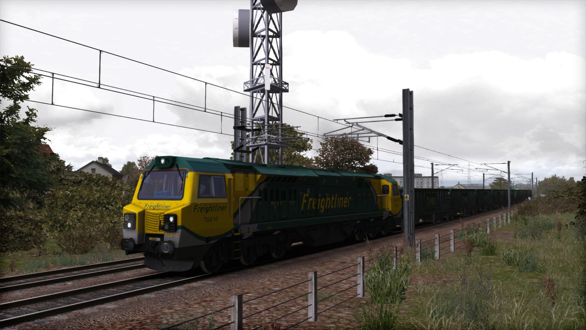 Train Simulator: Freightliner Class 70 Loco Add-On screenshot