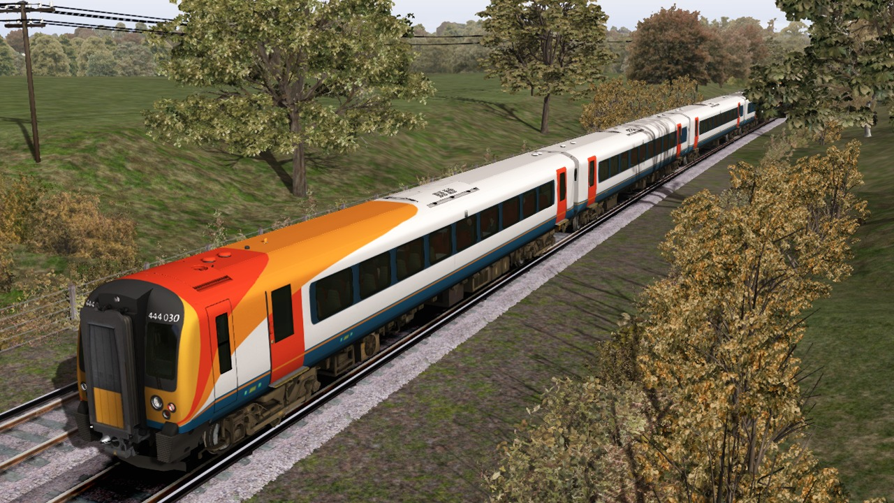Train Simulator: South West Trains Class 444 EMU Add-On screenshot