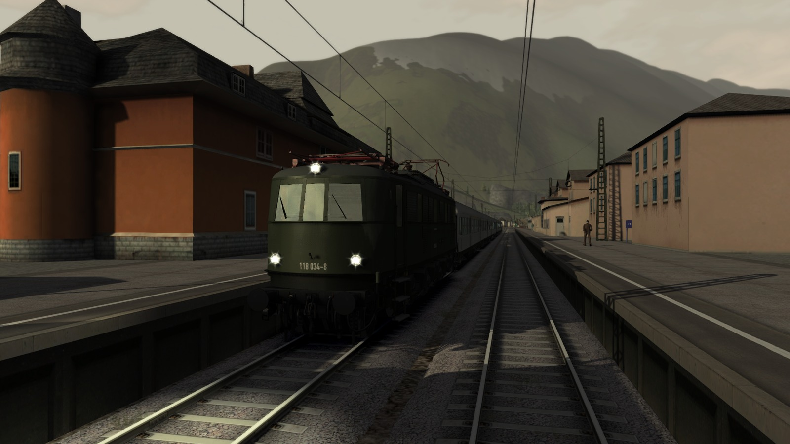 Train Simulator: E18 Loco Add-On screenshot