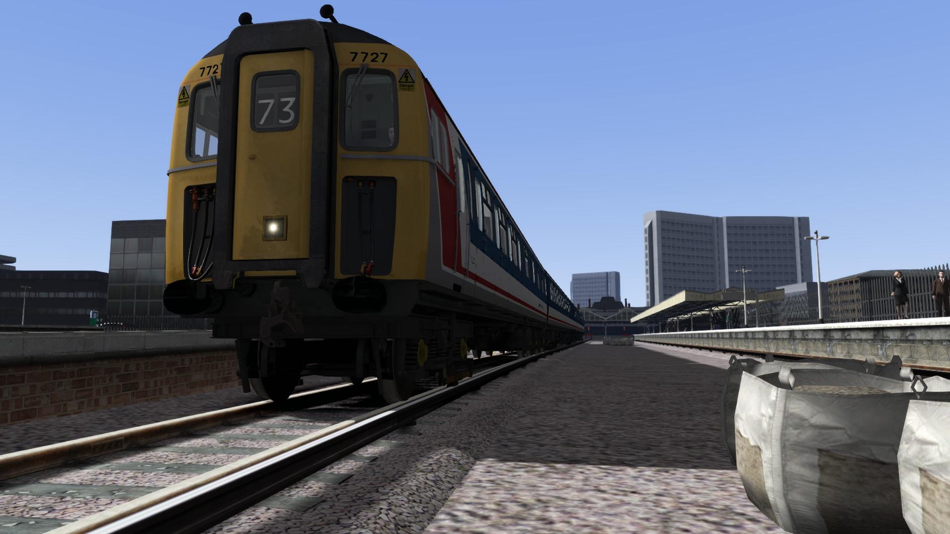 Train Simulator: BR Class 423 '4VEP' EMU Add-On screenshot
