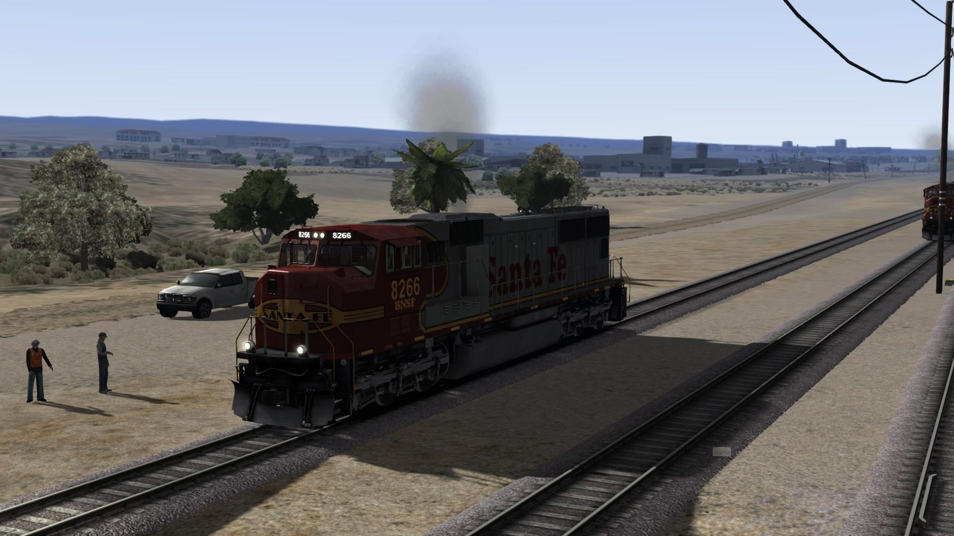 Train Simulator: BNSF SD75 Loco Add-On screenshot