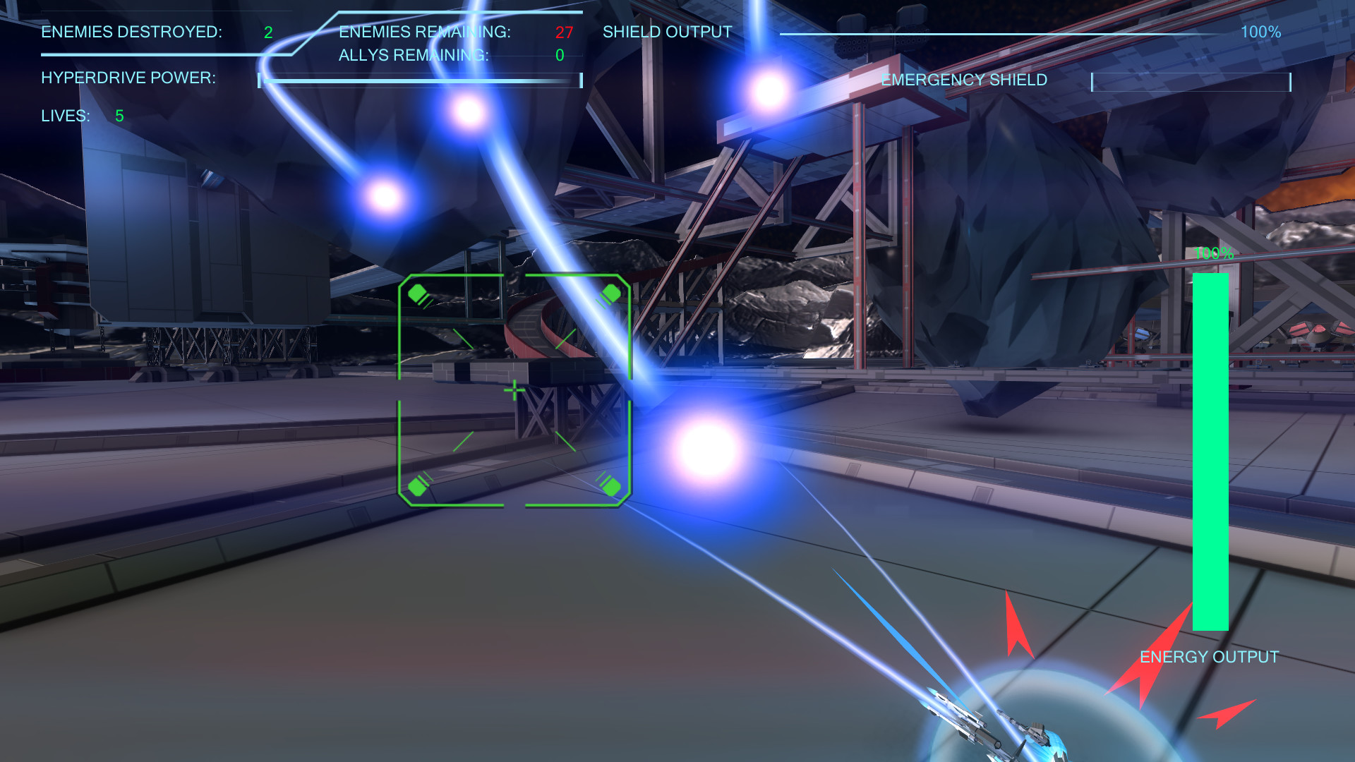 Vanguard Knights screenshot