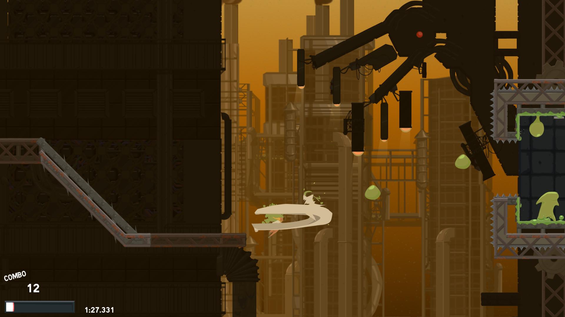 Dustforce DX screenshot