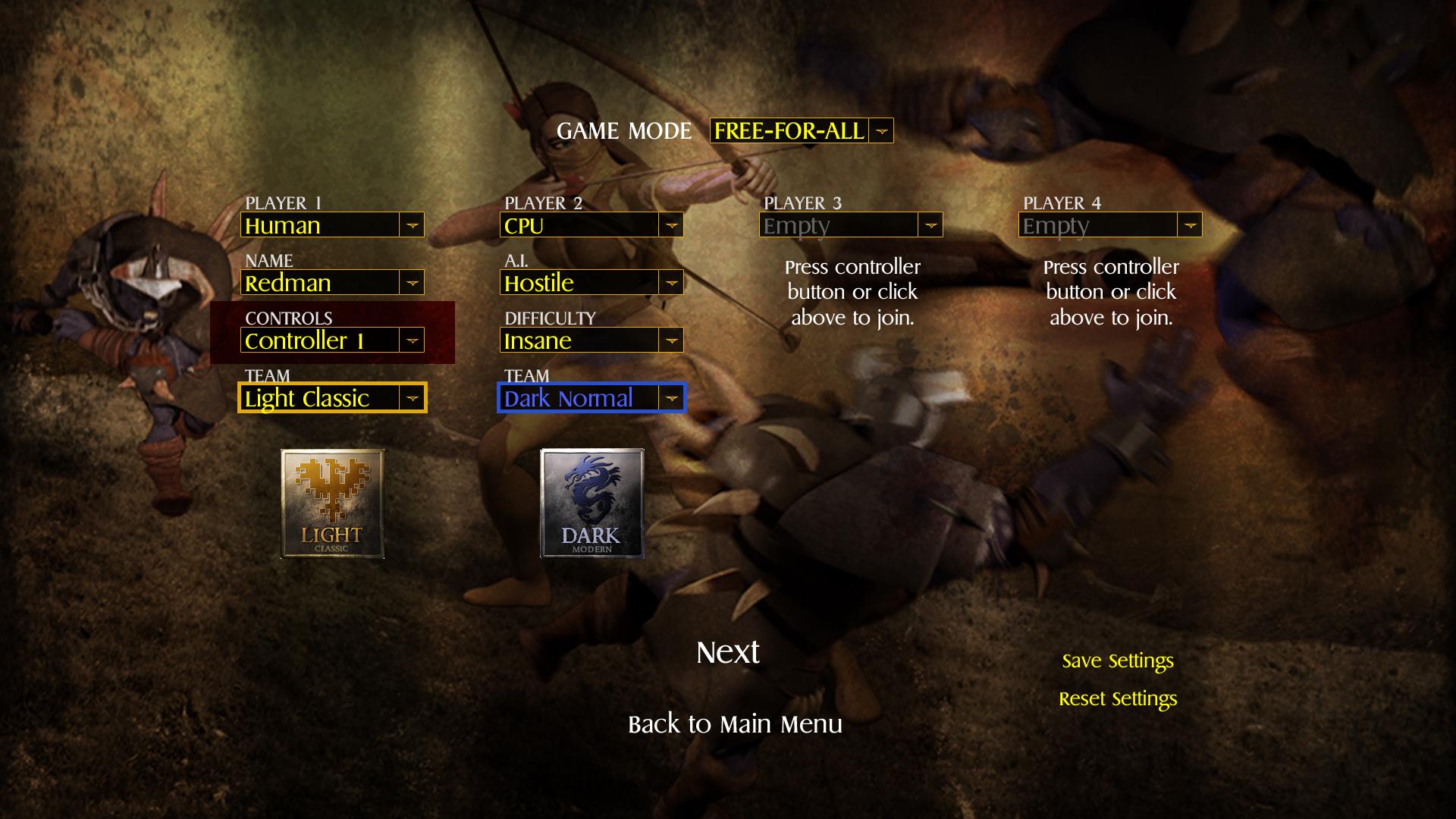 Archon Classic screenshot