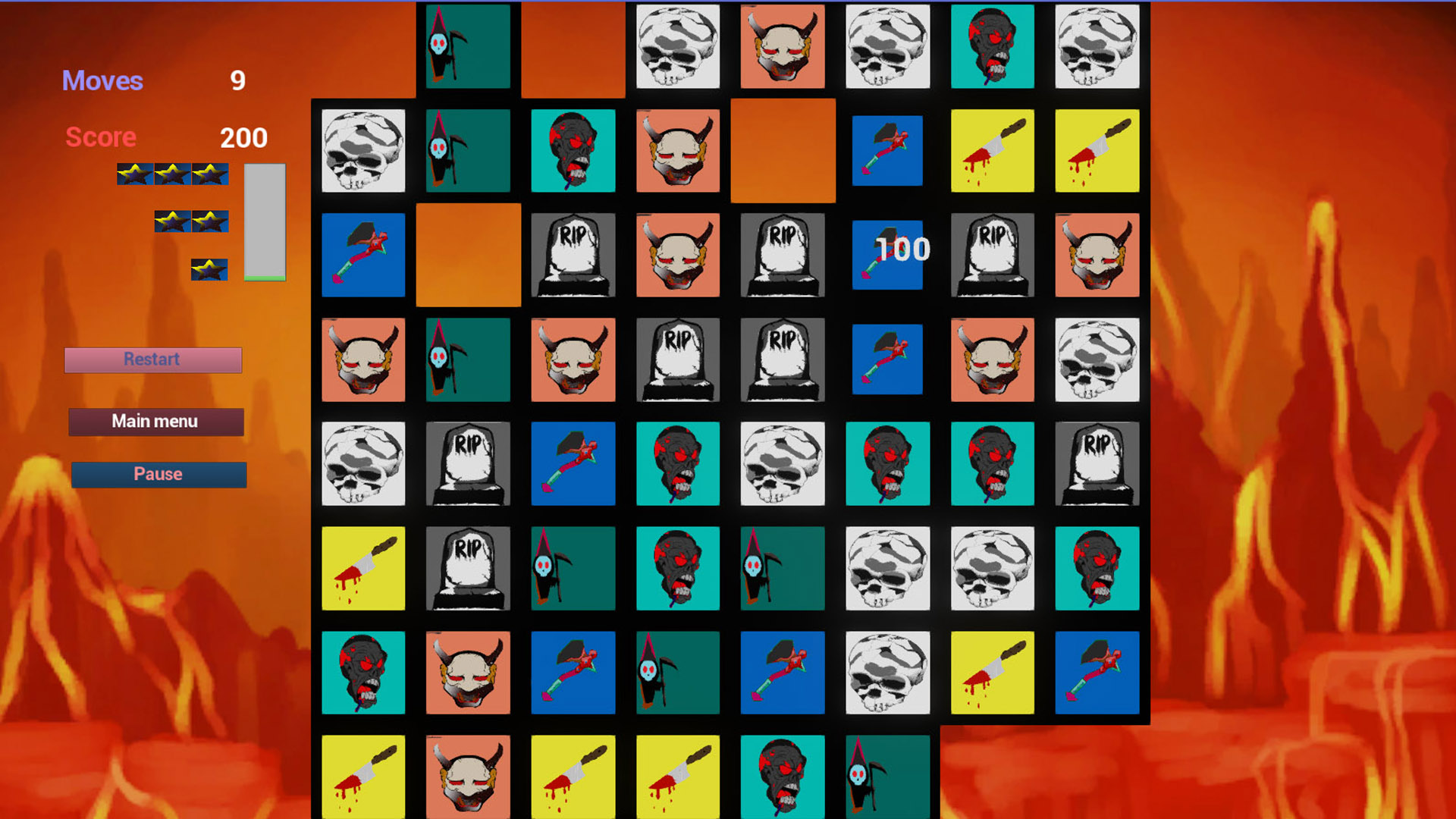 Inferno Puzzle screenshot