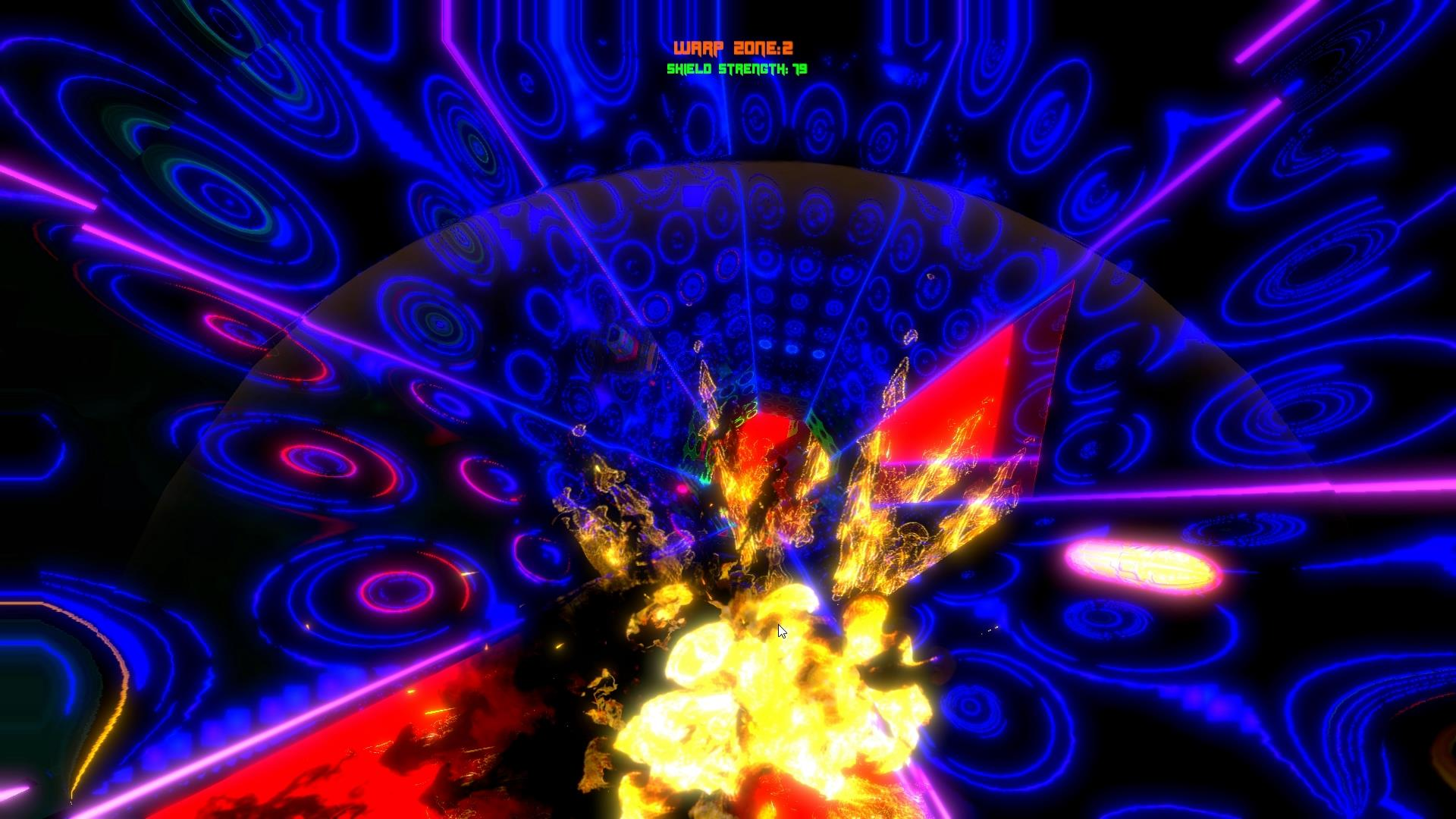 Warp Rider screenshot