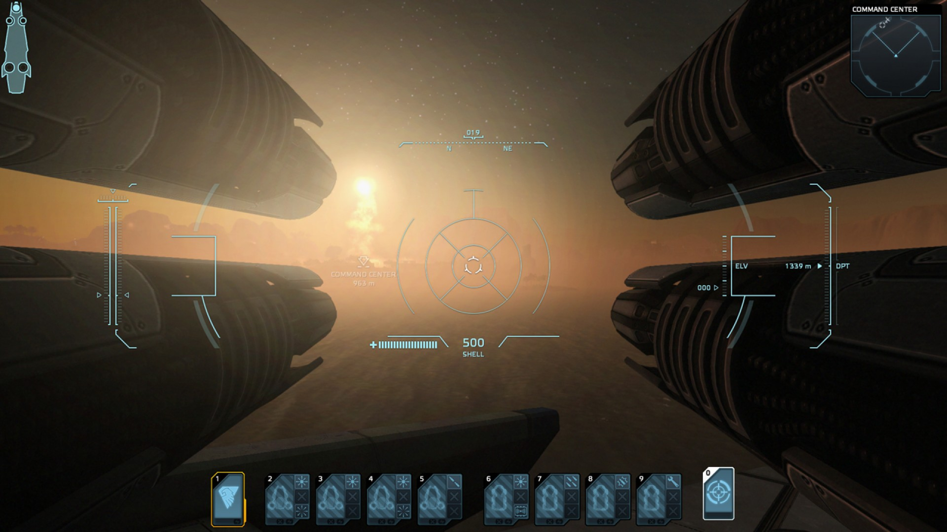 Carrier Command: Gaea Mission screenshot