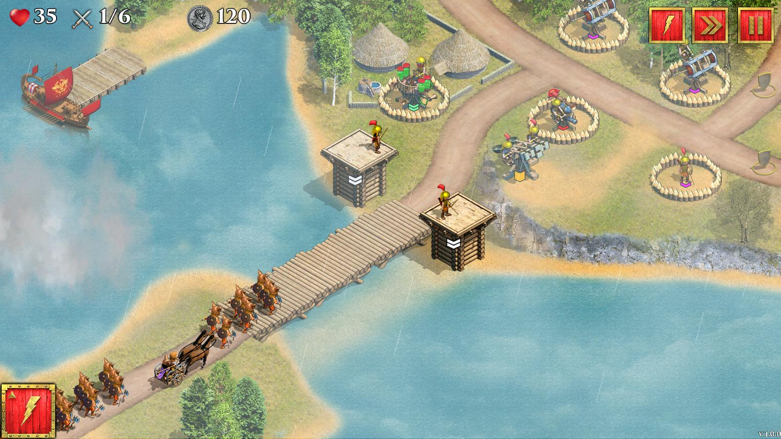Defense of Roman Britain screenshot