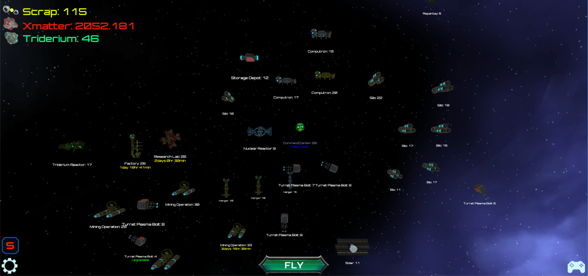 Starfighter General screenshot