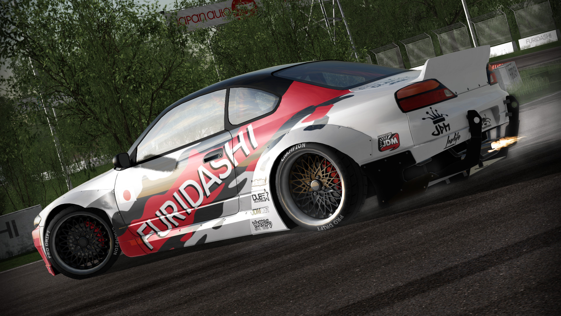 FURIDASHI: Drift Cyber Sport screenshot