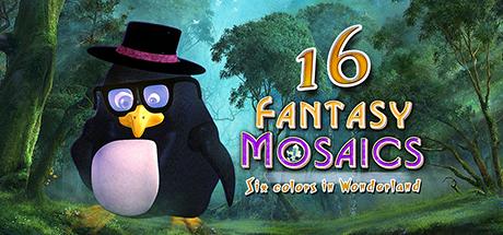 Fantasy Mosaics 16: Six Colors in Wonderland