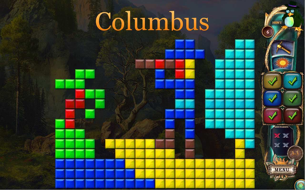 Fantasy Mosaics 16: Six Colors in Wonderland screenshot