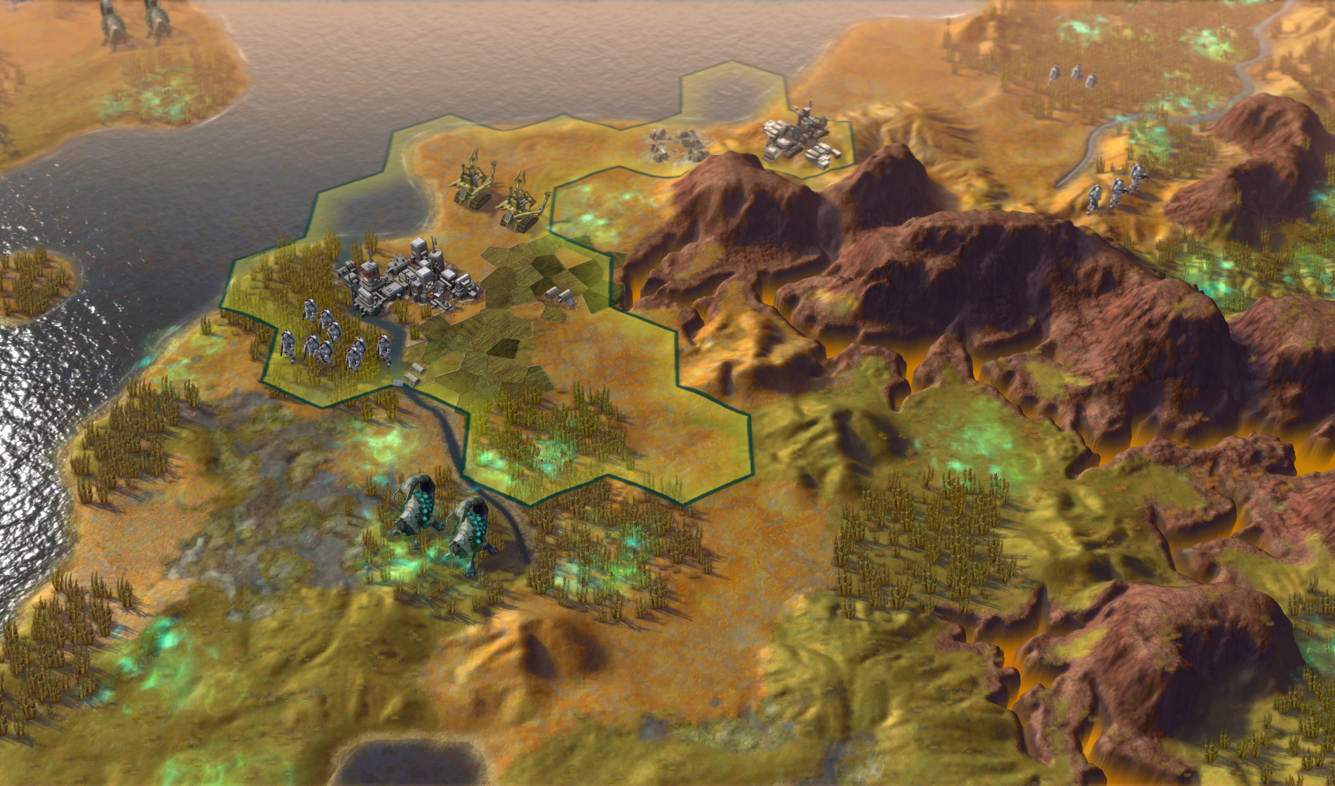 Sid Meier's Civilization: Beyond Earth screenshot