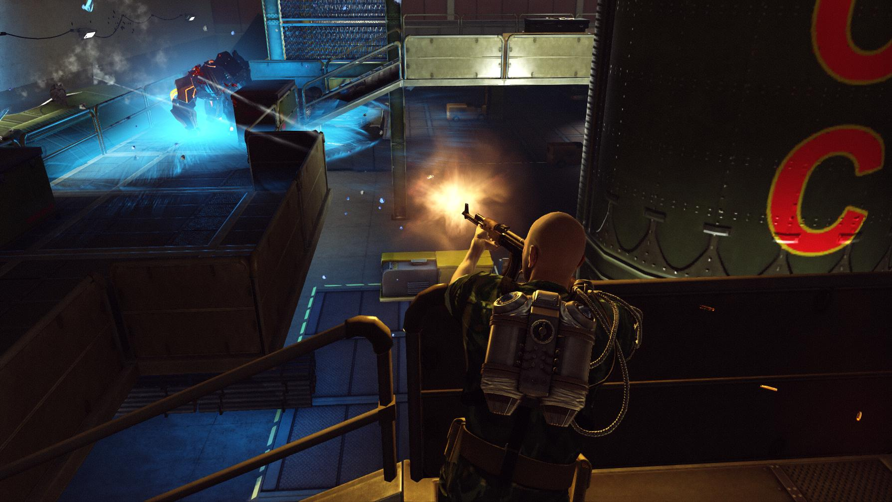 The Bureau: XCOM Declassified - Hangar 6 R&D screenshot