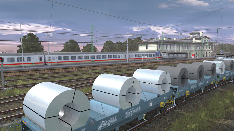 Trainz 2019 DLC: Shmmns Coil Transporter screenshot