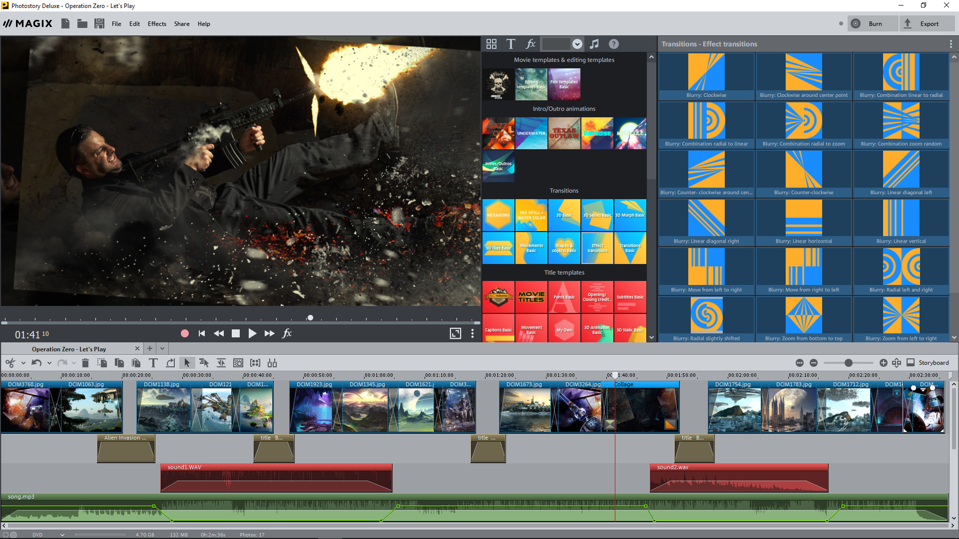 MAGIX Photostory 2018 Deluxe Steam Edition screenshot