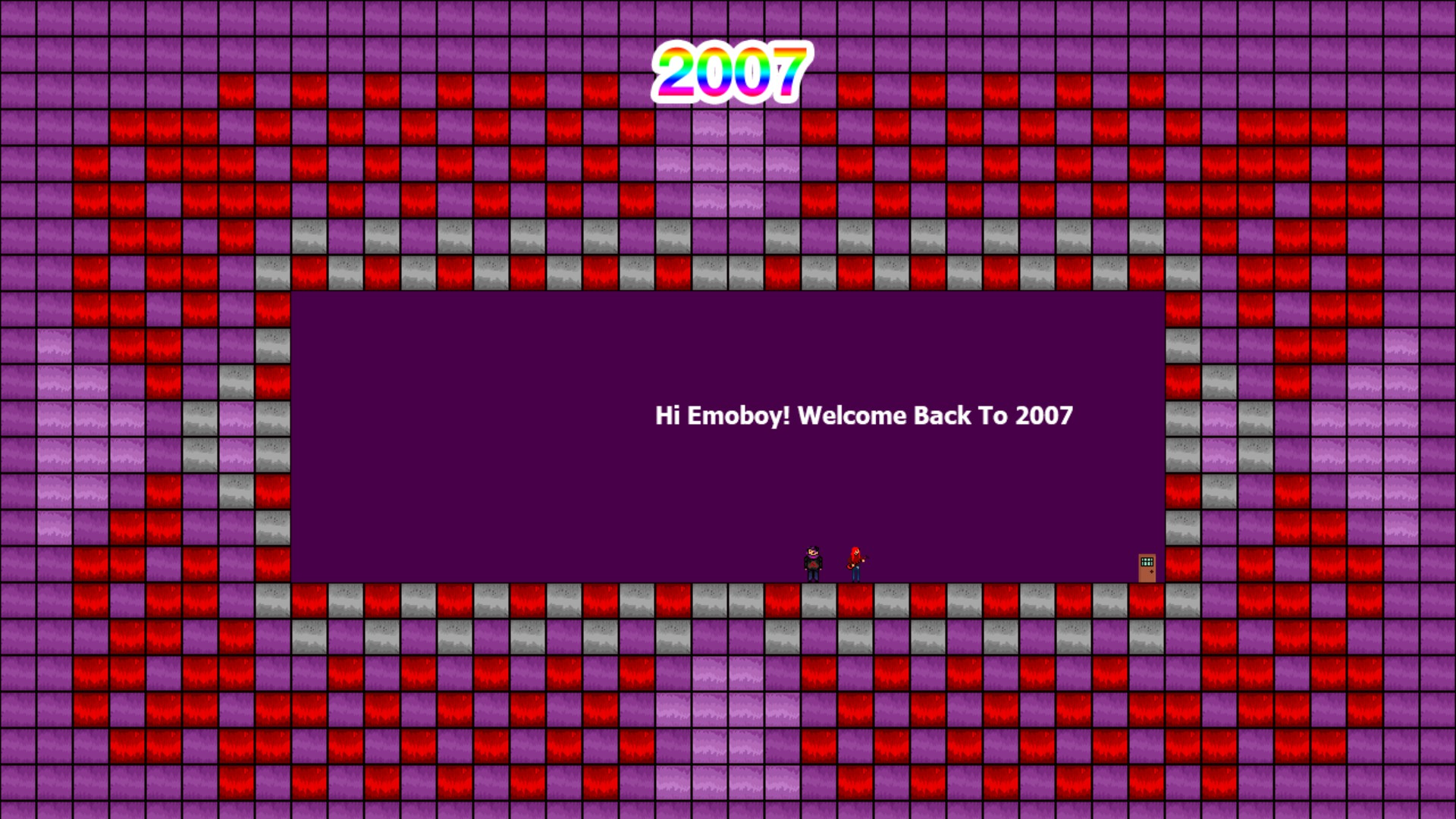 Welcome Back To 2007 screenshot
