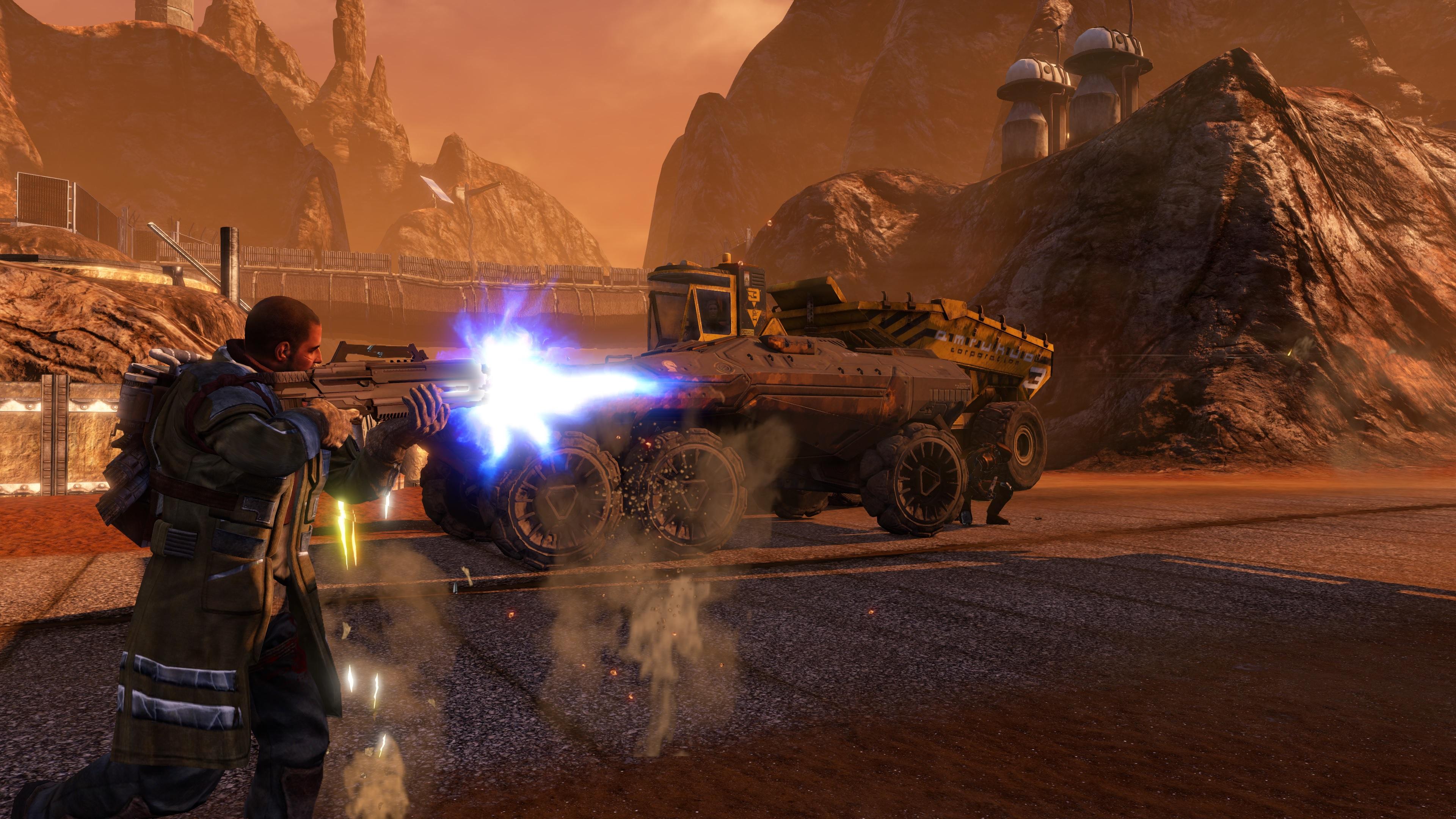 Red Faction Guerrilla Re-Mars-tered screenshot