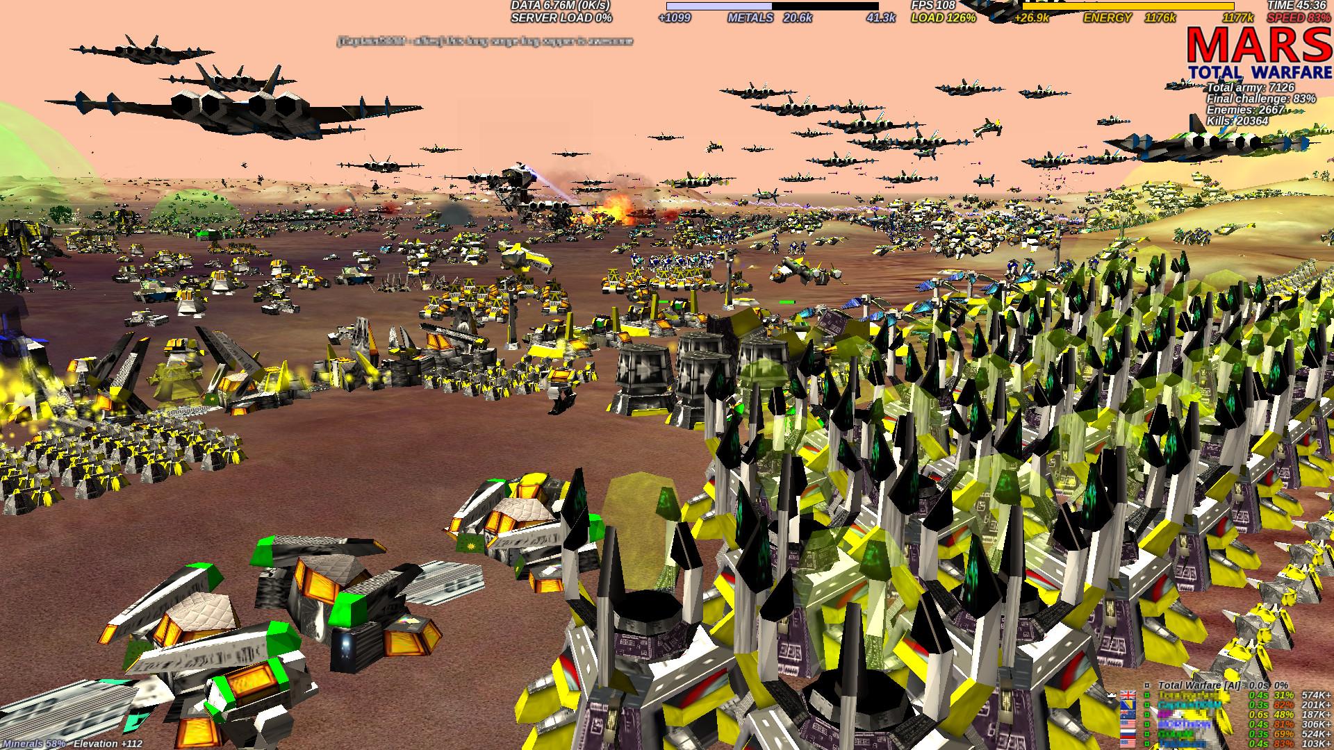 [MARS] Total Warfare screenshot