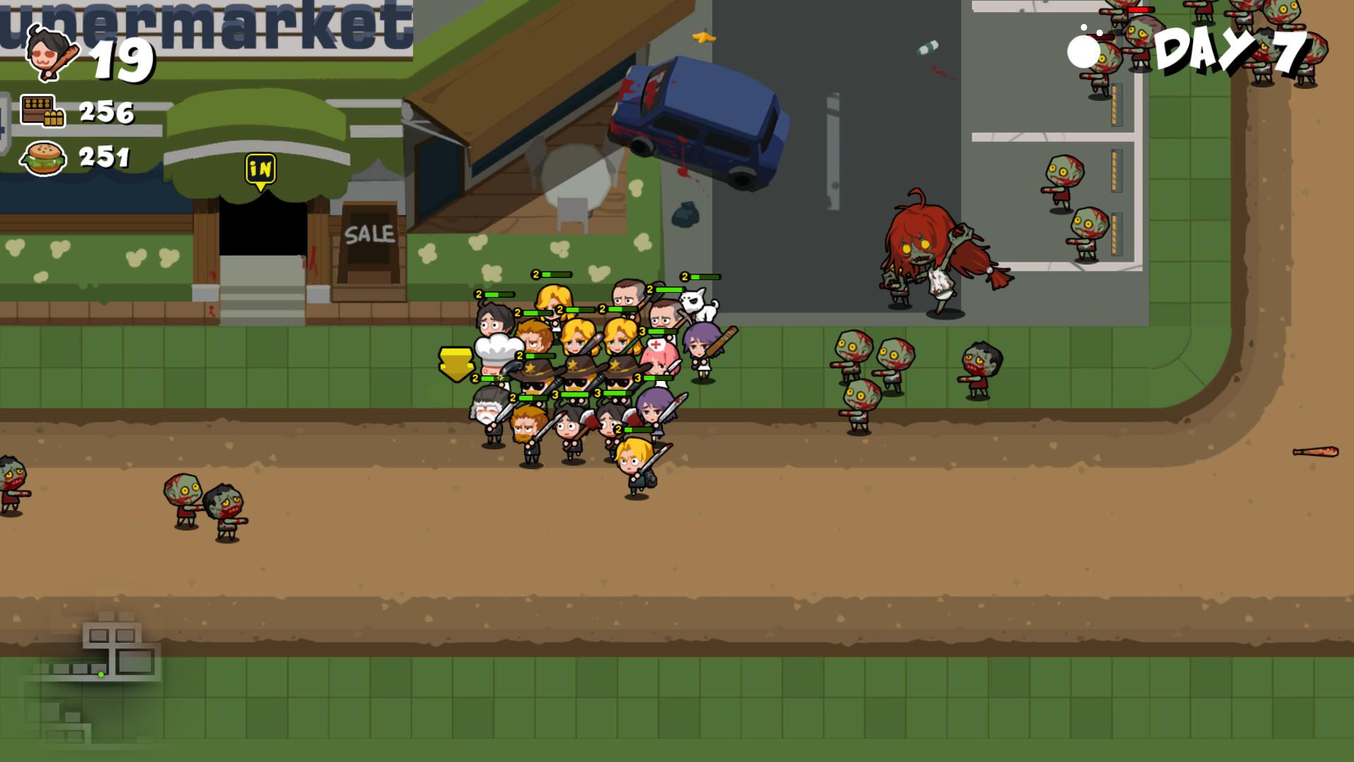 Run!ZombieFood! screenshot