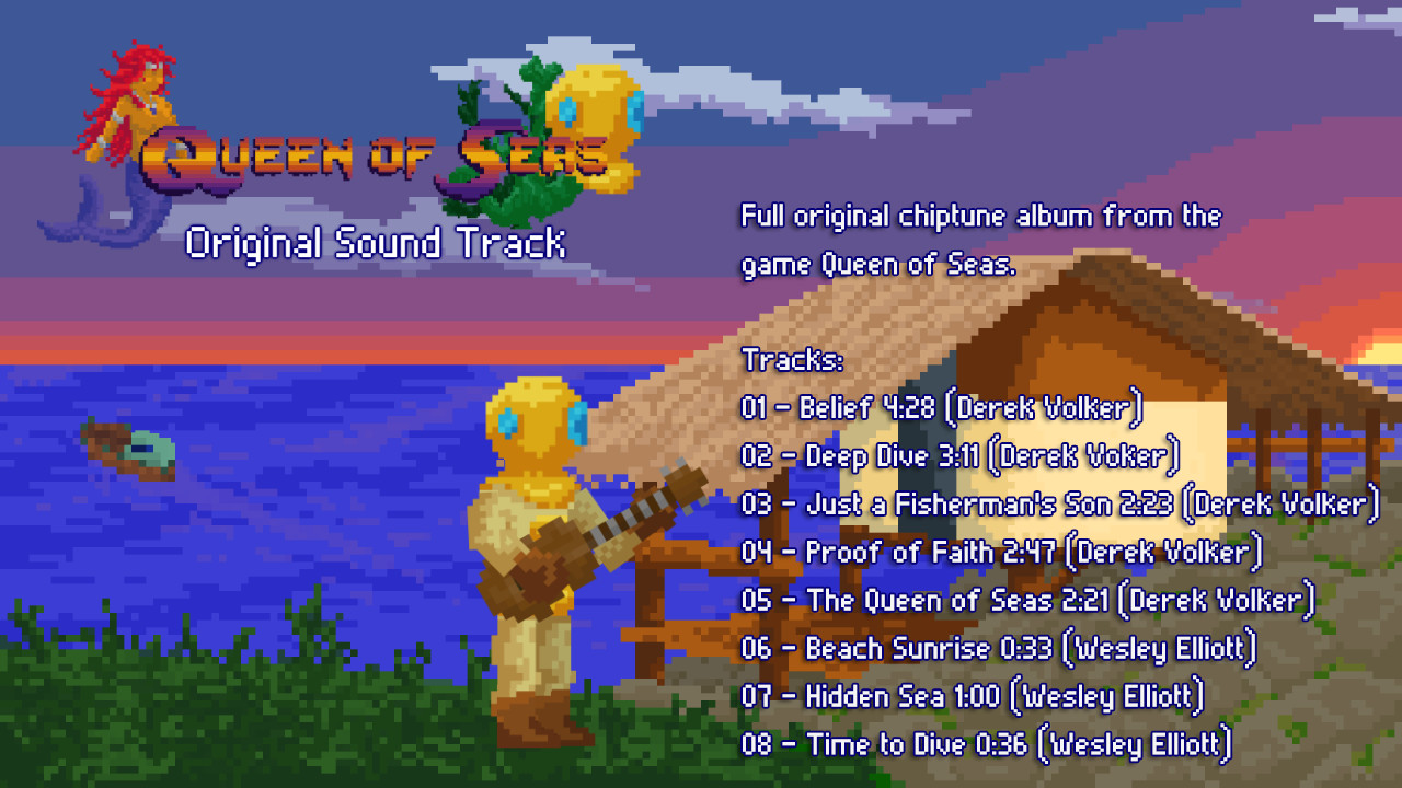 Queen of Seas - Original Sound Track screenshot
