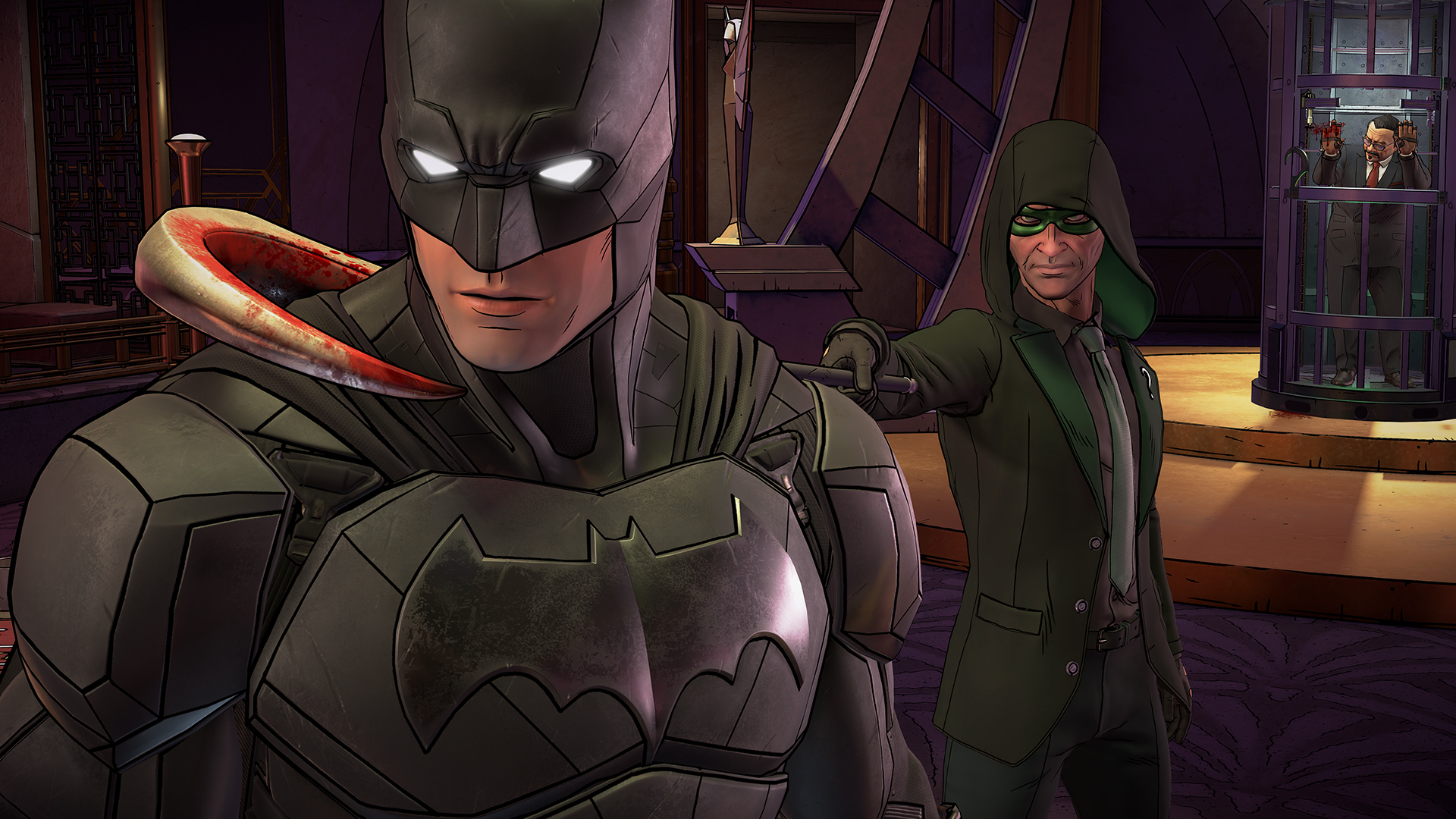 Batman: The Enemy Within (Telltale Games) (RUS/ENG/MULTI9) [L]