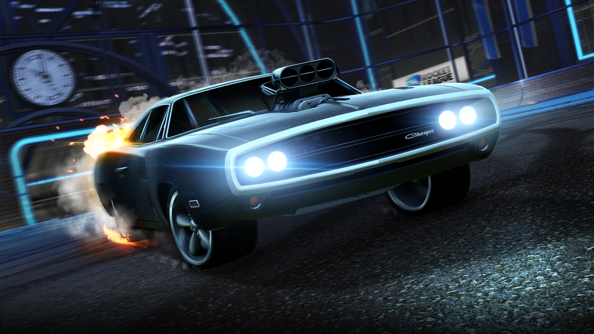 Rocket League – Fast & Furious '70 Dodge Charger R/T screenshot