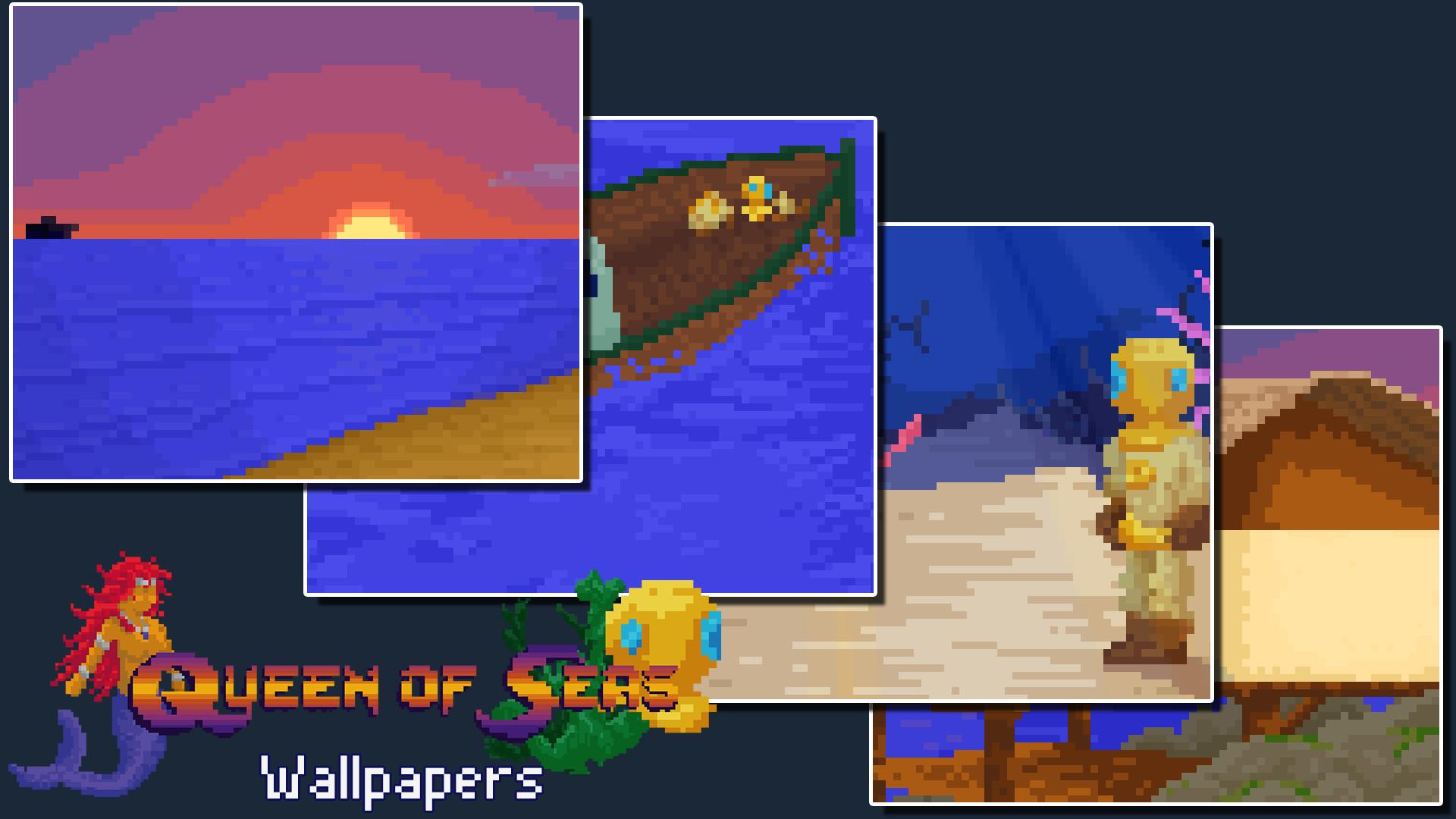 Queen of Seas - Wallpapers screenshot