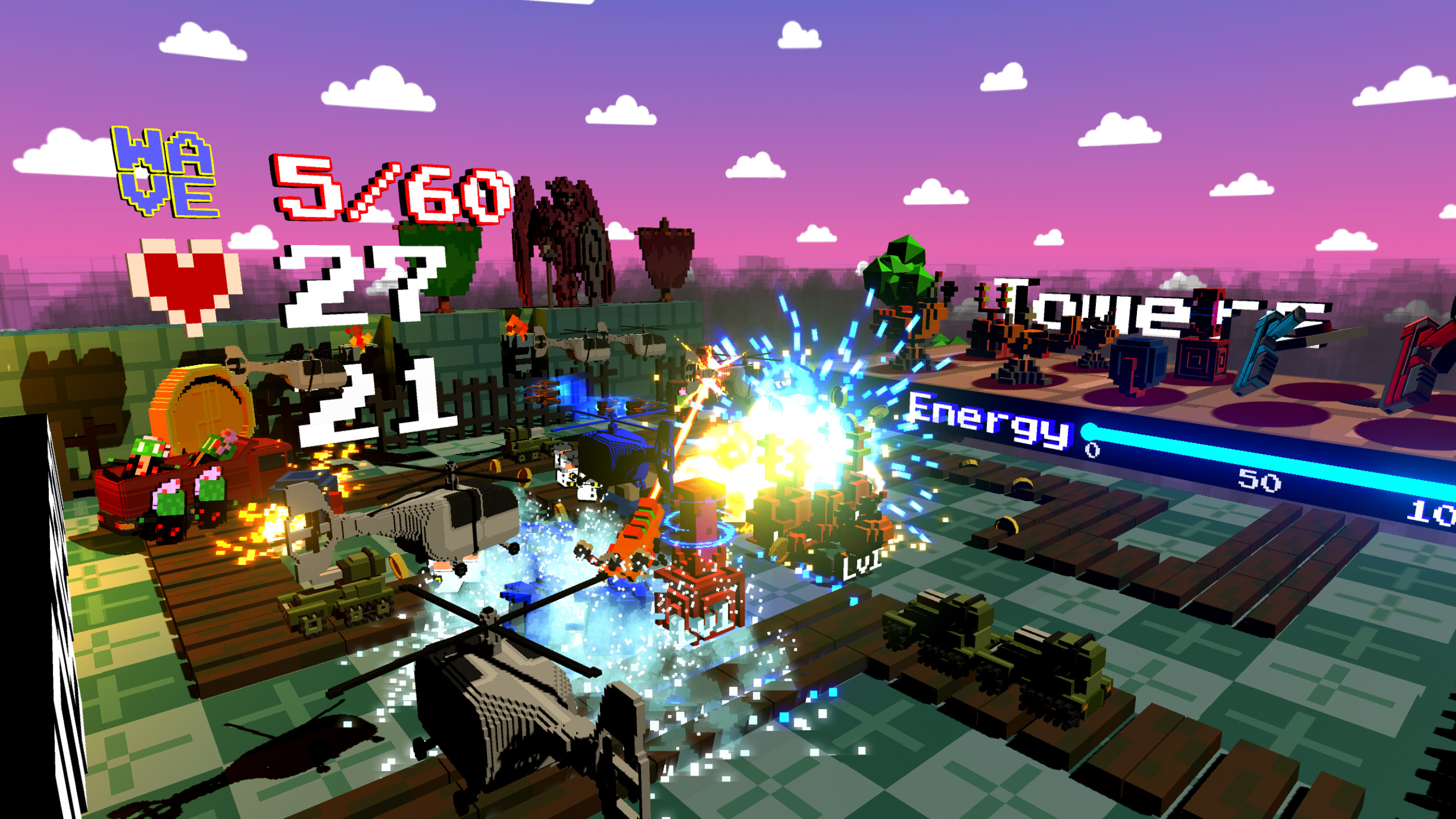 Whats on steam miniature td vr are you ready to play a adorable tower defense game set in an voxel world use the vr controllers to drag and drop towers on a floating map gumiabroncs Gallery